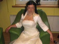 Śliczna suknia ślubna-Okazja-Tanio!!!!!!!