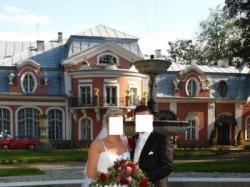 Śliczna suknia ślubna Papa Michel Entoria