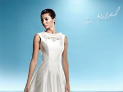 Śliczna Suknia Ślubna Papa Michel kolekcja 2010 model Frege