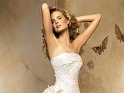 Śliczna suknia ślubna PRONOVIAS OLGA z kolekcji 2007