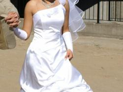 śliczna suknia ślubna r 38 !!150zł!!