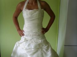 Śliczna suknia ślubna!!!!!r.38