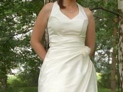 ---Śliczna suknia ślubna- rozm. 38---