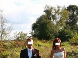 śliczna suknia ślubna rozmiar 34