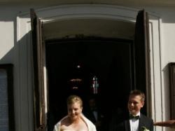 śliczna suknia ślubna Sincerity 3141 (efekt wyszczuplający)