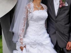 Śliczna Suknia Ślubna SISI- tanio!!!