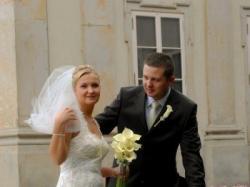 Śliczna suknia ślubna Sposabella