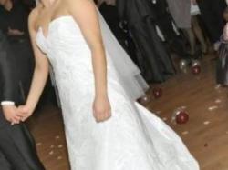 Śliczna suknia ślubna Sposabella Karena 772 biała