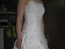 Śliczna suknia ślubna-TANIO