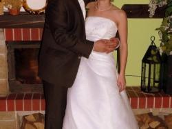 Śliczna suknia ślubna tanio!!!