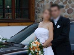 Śliczna suknia ślubna-tanio!