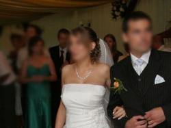 Sliczna suknia ślubna/tanio!