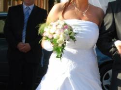 Sliczna suknia slubna- tanio!!!+ gratis