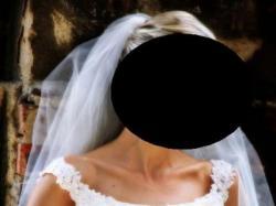 Śliczna suknia ślubna w kolorze ivory, rozmiar 34/36!