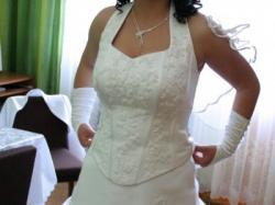 śliczna suknia ślubna w super cenie (tylko teraz taka cena)!!POLECAM