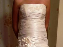 Śliczna suknia ślubna, wygodna, stan idealny