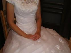 śliczna suknia ślubna - wzrost 170cm