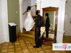 Śliczna suknia ślubna z Anglii !!!