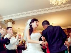 Śliczna suknia ślubna z długim lub krótkim przodem!!!!