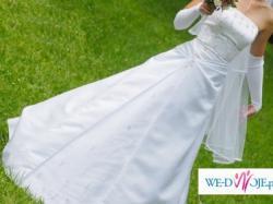 Śliczna suknia ślubna z kolekcji ATELIER DIAGONAL