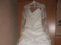 Śliczna suknia ślubna z kolekcji MS Moda