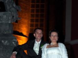 Śliczna suknia ślubna z muślinu + gratis dodatki
