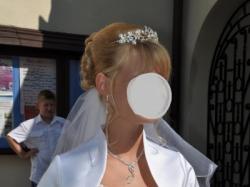Śliczna suknia ślubna z salonu 36-38