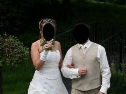 Śliczna suknia ślubna z salonu Sarah