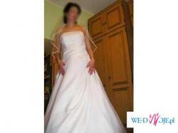 śliczna suknia ślubna, za jedyne 500 zł.