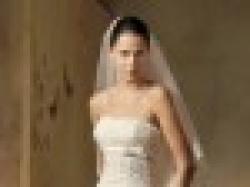 Śliczna suknia z hiszpańskiej koronki z salonu MADONNA
