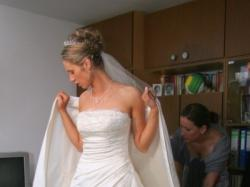 Śliczna suknia z kolekcji Cosmobella 2006