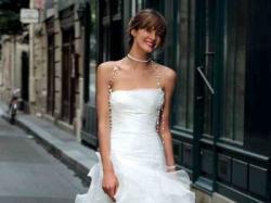 Śliczna suknia z krótkim lub długim przodem !!!! Cymbeline model Douceur