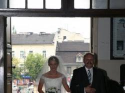 śliczna suknie śluba
