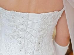 Śliczna suknie ślubna MS Moda Lisette