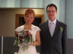 Śliczną suknię ślubną sprzedam