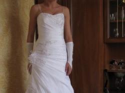 Śliczną suknię ślubną sprzedam tanio