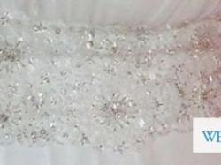 Śliczna tania suknia ślubna r. 38-40