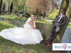 Śliczna Włoska suknia ślubna-Radom