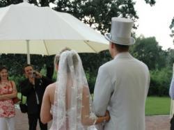 ŚLICZNA, WYJĄTKOWA suknia ślubna rozm.36