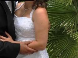 Śliczna wyszczuplająca suknia ślubna Annais Bridal -model RINA!!!