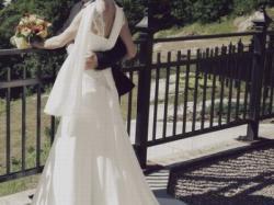 Śliczna zwiewna suknia ślubna Maggie Sottero