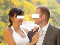 Ślubna srebrna  kamizelka z musznikiem