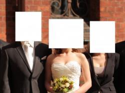 Ślubna suknia Annais Bridal, ivory, ecru, krem, r. 36-38, bez trenu