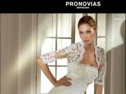 Ślubna suknia PRONOVIAS NALON 2008