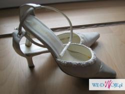 Ślubne buty Carlo Ferrucci , ecri rozm. 37