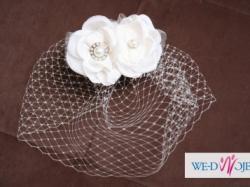 Ślubne kolczyki z perłami