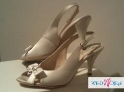 Ślubne satynowe pantofelki firmy Gatuzo
