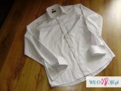 Smoking ALBERTO RENZINO ,marynar,spodnie,2 koszule-warty 2000
