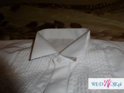 Smoking ślubny + koszula + spinki Okazja