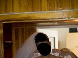 Śnieżnobiała, koronkowa suknia ślubna